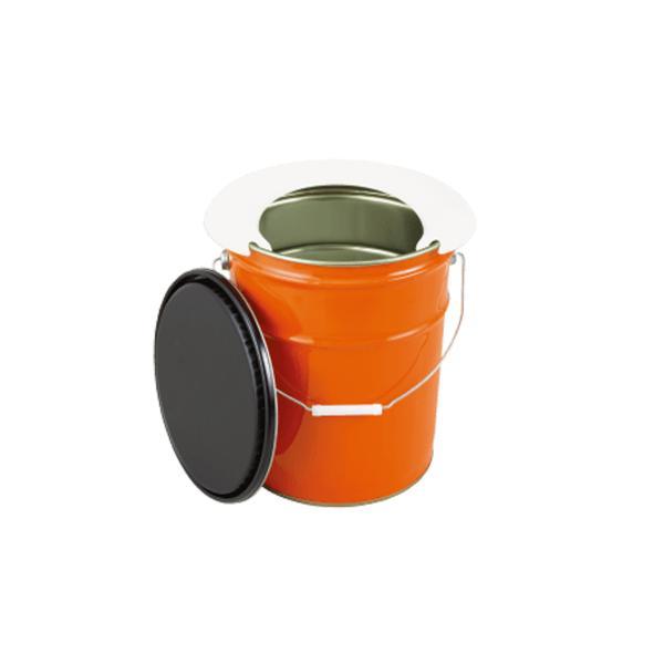 非常用トイレ マイレット ペール缶トイレ  便器 マイペール クッション付き
