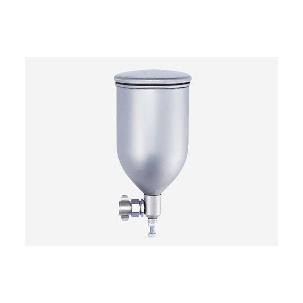 明治 スプレーガン用 塗料カップ (コンテナカップ)  4G-TA  ステンレス 自在ジョイント式