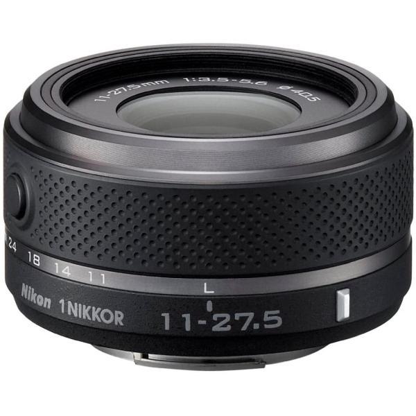 Nikon 標準ズームレンズ 1 NIKKOR 11-27.5mm f/3.5-5.6 ブラック ニコン ミラーレス一眼 CXフォーマット専用