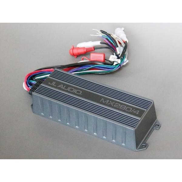 JL Audio MX280/4  4ch マリンパワーアンプ 防水アンプ