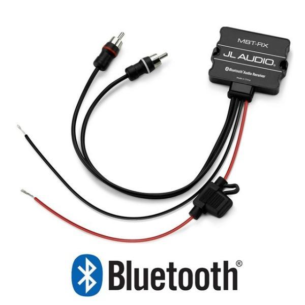 JL Audio MBT-RX 防水ブルートゥース受信機 RCA出力 マリンBluetooth受信機