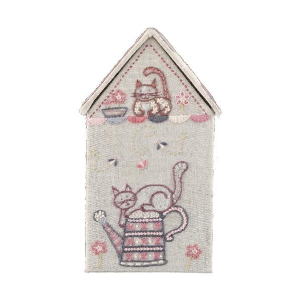 044-00329 BOITE MAISON CHATS(猫のお家ボックス)|sun-k|07