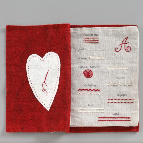 044-00814 CAHIER DE BRODERIE(刺繍帳)|sun-k|05
