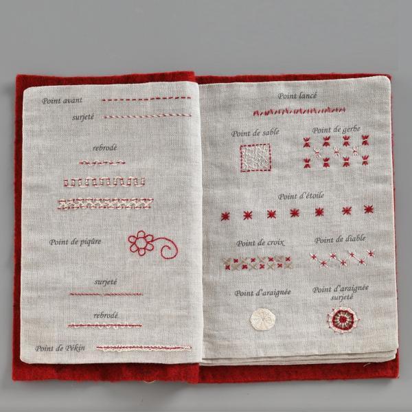 044-00814 CAHIER DE BRODERIE(刺繍帳)|sun-k|06