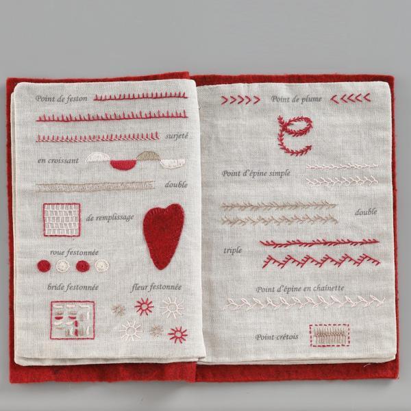 044-00814 CAHIER DE BRODERIE(刺繍帳)|sun-k|07