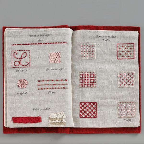 044-00814 CAHIER DE BRODERIE(刺繍帳)|sun-k|08