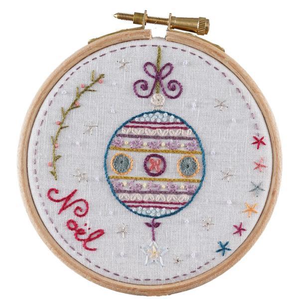 044-31803 Boule De Noel with 10cmhoop(ノエル)|sun-k