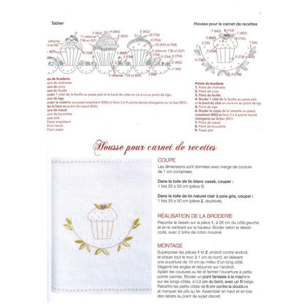 449-0278 LES BRODERIES DE MARIE & CIE SENTIMENTS BRODES No.8|sun-k|14