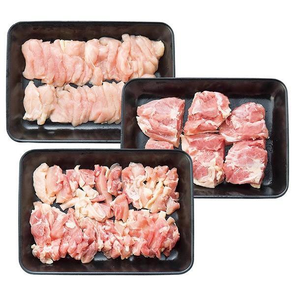 徳島 徳島地鶏 阿波尾鶏焼肉&ステーキ (お歳暮 お中元 ギフト 詰め合わせ セット 贈答 プレゼント お肉ギフト) (2021 お中元 肉 ハム ソーセージ 食べ比べ)
