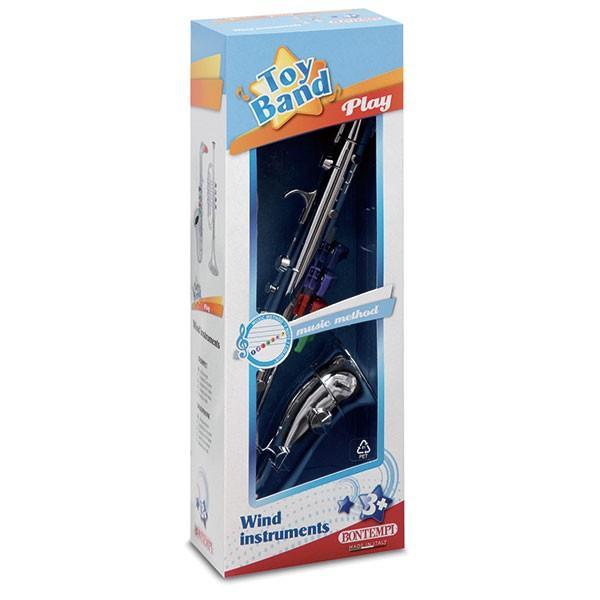 Bontempi ボンテンピ シルバーサックスフォン 4keys 37cm 323931 知育玩具|sun-wa|03