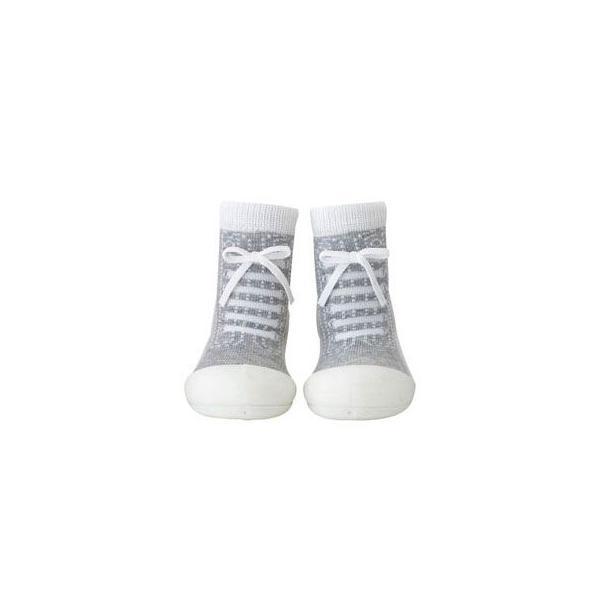 Baby feet Sneakers-Gray (11.5cm) 4941746805626 知育玩具|sun-wa|02