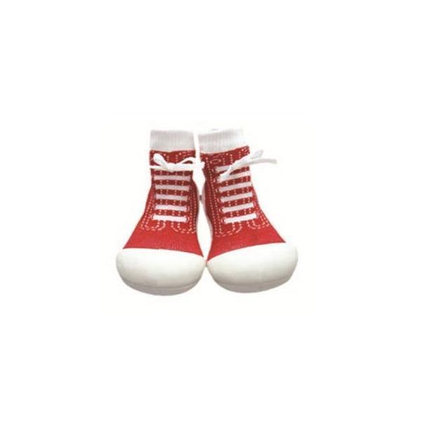 Baby feet Sneakers-Red (12.5cm) 4941746805657 知育玩具|sun-wa|02