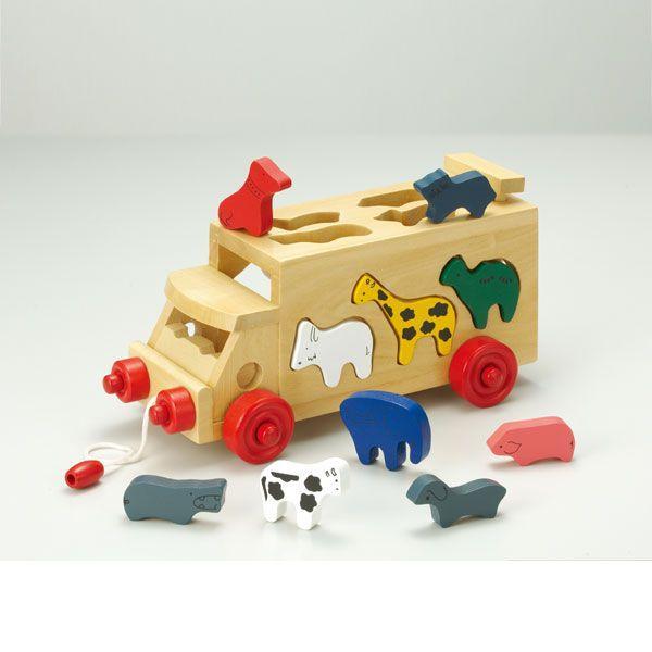 旧商品 森のあそび道具 サファリバス 4941746806388(知育玩具)|sun-wa|02