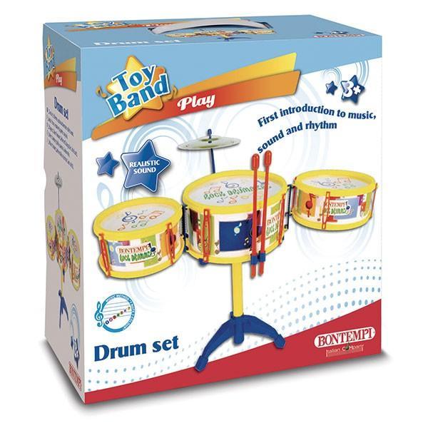 Bontempi ボンテンピ ドラムセット 3pcs 513341 知育玩具 sun-wa 03