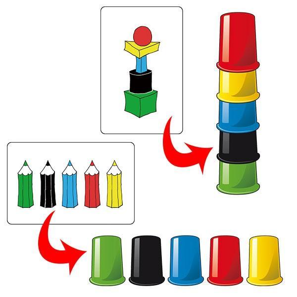 アミーゴ スピードカップス AM20695【日本語説明書付】 知育玩具 アミーゴ社  誕生日プレゼント 4歳 5歳 6歳|sun-wa|04