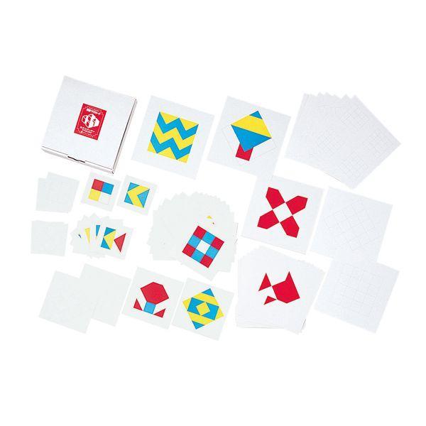 ブラザー・ジョルダン 模様づくりパターンカード 模様づくり・カード BJ0025 知育玩具|sun-wa