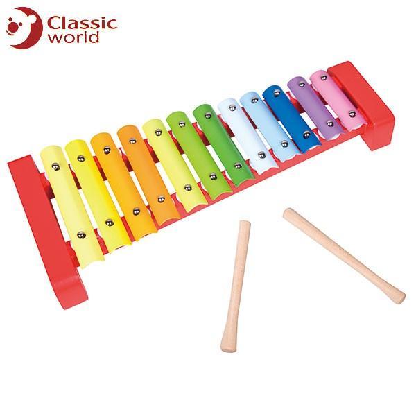 CLASSIC WORLD クラシック スターシロフォン CL4025 知育玩具 sun-wa