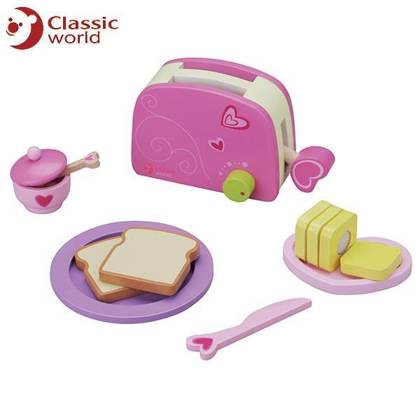 CLASSIC WORLD クラシック トースター セット CL4115 知育玩具|sun-wa