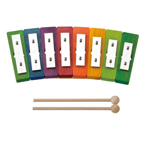 デコア レインボーグロッケン・ダイヤ8音 DE5780 知育玩具 出産祝い 楽器玩具 おもちゃ 知育玩具 0歳 1歳 2歳 3歳 4歳 クリスマスプレゼント 女の子 男の子