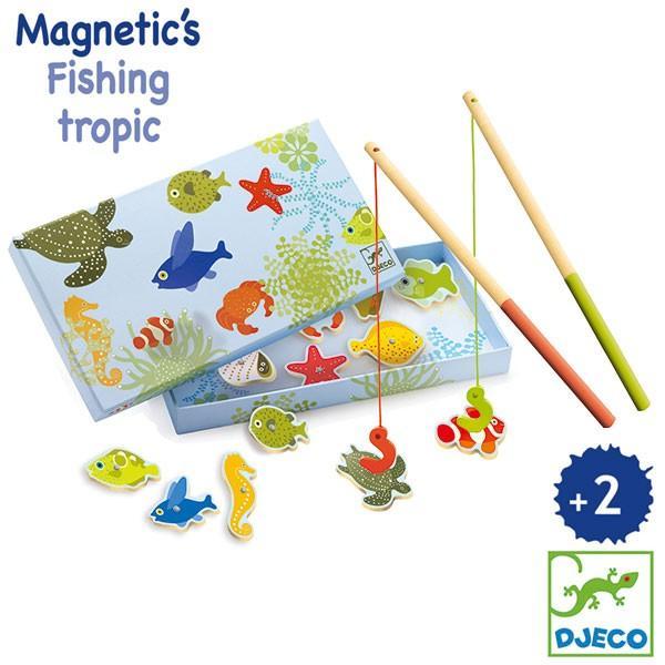 DJECO ジェコ トロピカルフィッシングゲーム DJ01652 知育玩具|sun-wa
