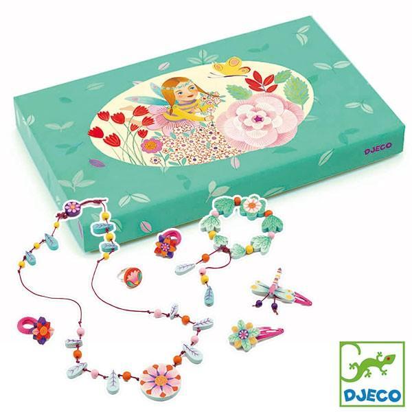 DJECO ジェコ アクセサリーセット フラワーパラダイス DJ06572 知育玩具 sun-wa