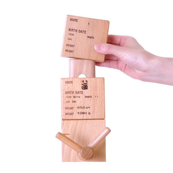 HOPPL(ホップル) GENKI-METER ゲンキメーター 連結用ネームプレート 木製 GE-connect-NA|sun-wa|04