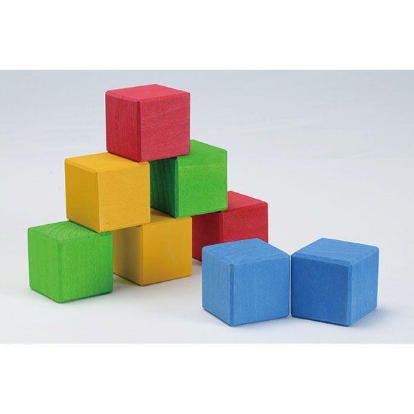 旧商品 グリムス BLOCKS・4色立方体 GM10063(積木) 知育玩具|sun-wa|02