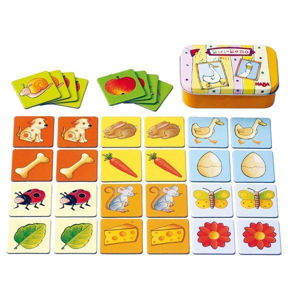 ハバ リトルゲーム・メモリー HA2562 知育玩具 sun-wa
