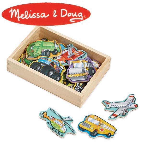 Melissa&Doug メリッサ&ダグ ビークルマグネット MD8588 知育玩具|sun-wa