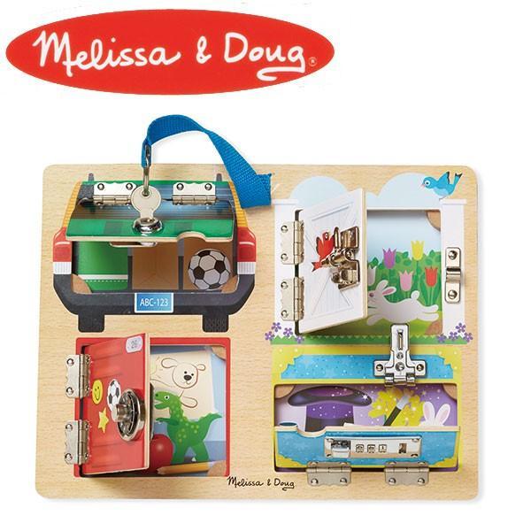 Melissa&Doug メリッサ&ダグ ロック&ラッチ ボード MD9540 知育玩具|sun-wa