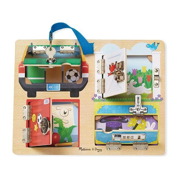 Melissa&Doug メリッサ&ダグ ロック&ラッチ ボード MD9540 知育玩具|sun-wa|02