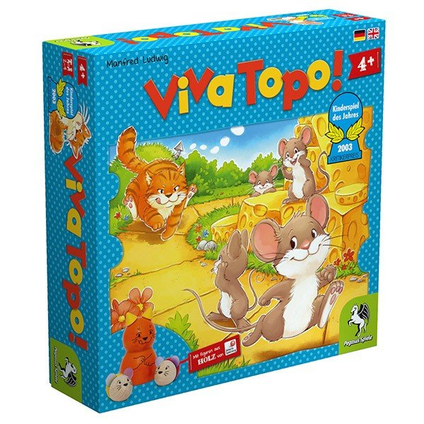 ねことねずみの大レース Viva Topo! 【正規品】 ペガサス PG66003 4歳 ゲーム 知育玩具 誕生日プレゼント 5歳 6歳 ボードゲーム|sun-wa|02