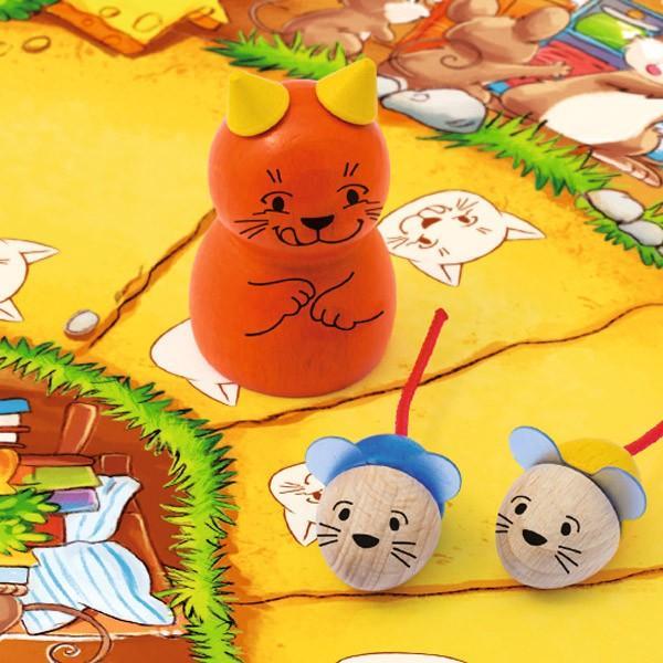 ねことねずみの大レース Viva Topo! 【正規品】 ペガサス PG66003 4歳 ゲーム 知育玩具 誕生日プレゼント 5歳 6歳 ボードゲーム|sun-wa|05