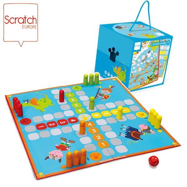 SCRATCH スクラッチ ボードゲーム バイキング SC1040 知育玩具|sun-wa