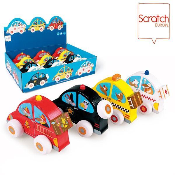 旧商品 SCRATCH スクラッチ オフィシャルカー SC1054 知育玩具 sun-wa