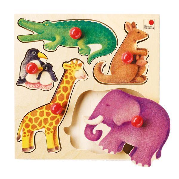 旧商品 セレクタ グライフパズル・動物 SE2051 知育玩具|sun-wa