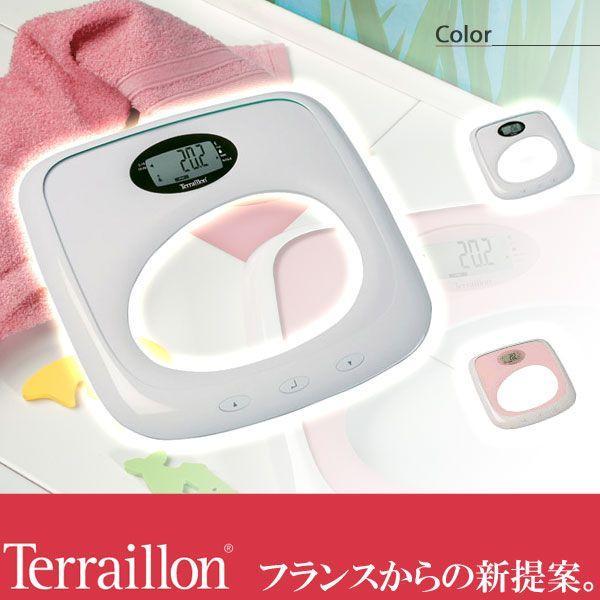 旧商品 テライヨン BMI(肥満度)測定機能付き体重計 FBC ノヨ TBS805WT|sun-wa