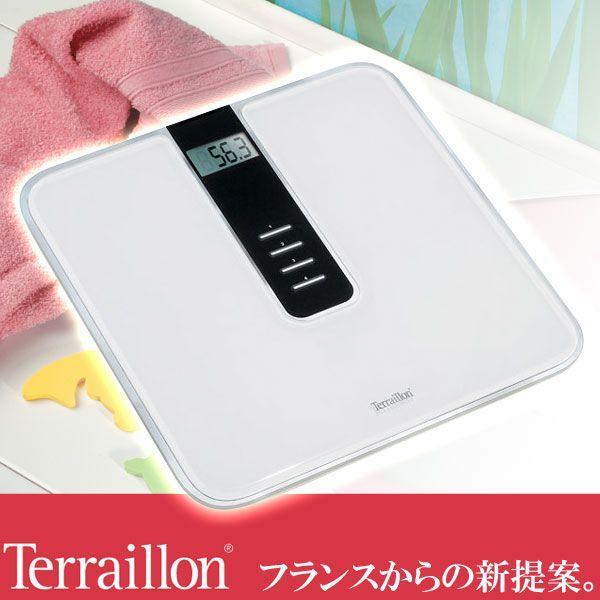 旧商品 テライヨン 体重計 セリス メモリー TBS806WT|sun-wa