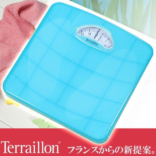 旧商品 テライヨン 体重計 TW98 アクアブルー TBS851BL|sun-wa