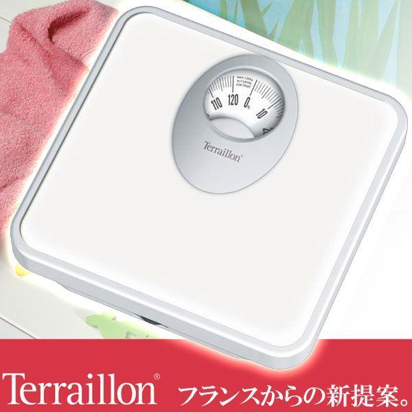 旧商品 Terraillon 体重計 T61 ホワイト TBS855WT|sun-wa