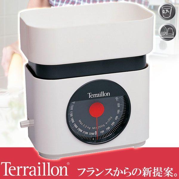 旧商品 テライヨン BA22 ホワイト TKS750WT(計量器具)|sun-wa