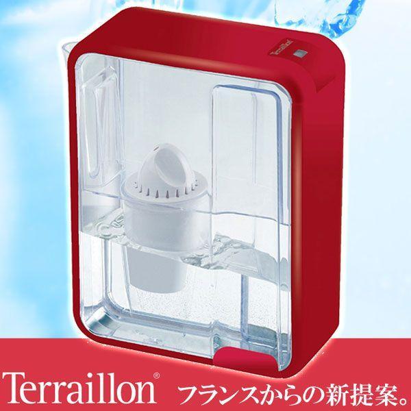 旧商品 Terraillon artic 1.5L レッド TWF902RD|sun-wa