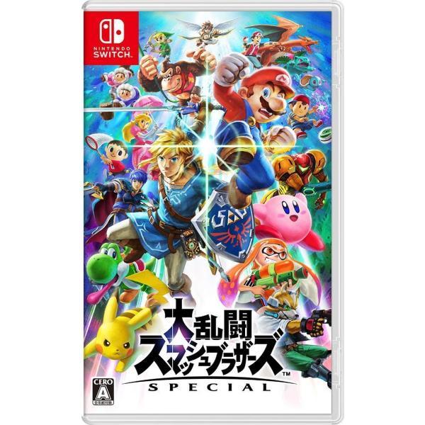 大乱闘スマッシュブラザーズSPECIAL任天堂Switchニンテンドースイッチゲームソフトスマブラスペシャル新品