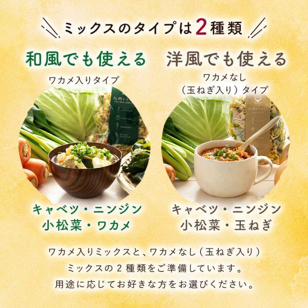 乾燥野菜 国産 九州 ドライベジ 1袋 ラーメン 味噌汁 等に入れるだけ 野菜不足 に 4種の野菜 ゆうパケットのため代引不可|sunao-syokudou|04
