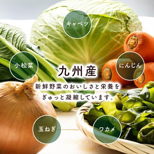 乾燥野菜 国産 九州 ドライベジ 1袋 ラーメン 味噌汁 等に入れるだけ 野菜不足 に 4種の野菜 ゆうパケットのため代引不可|sunao-syokudou|05