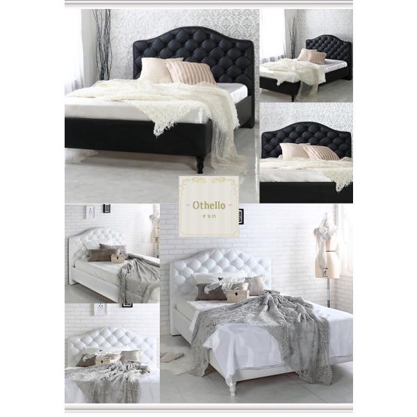 ベッド セミダブル マットレス付き お姫様ベット 姫系 ベッド セミダブルベッド マットレス付き|sunbridge-webshop|10