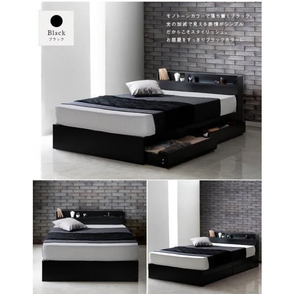 ダブルベッド ダブルベッド ベッド 収納付き フレーム マットレス付き はサイズ・タイプ表から選ぶと最安値 安い セミダブル & ダブル|sunbridge-webshop|07
