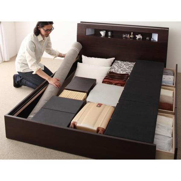ベッド ベット 収納ベッド 収納ベット シングルベッド サンブリッジ
