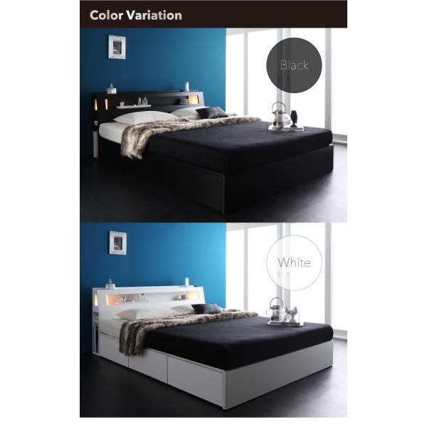 クイーンベッド クイーンベッド 収納 収納付き ベッド クイーン フレームのみ|sunbridge-webshop|03