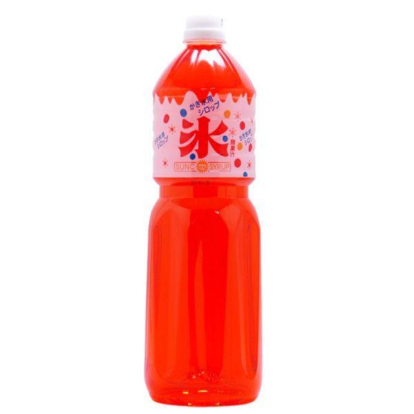かき氷(カキ氷)シロップ オレンジ 1.8L業務用